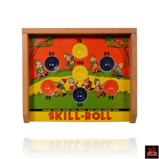 Vintage Skill Roll Game