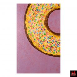 Sprinkles Donut Painting