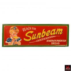 Vintage Sunbeam Bread Sign
