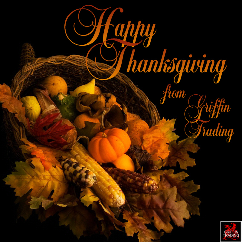 Happy Thanksgiving from Griffin Trading
