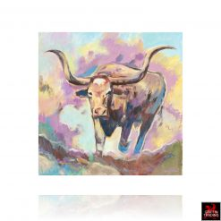 The Boss Longhorn painting by Hardy Martin