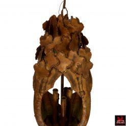 Tom Greene Brutalist pendant by Feldman lighting