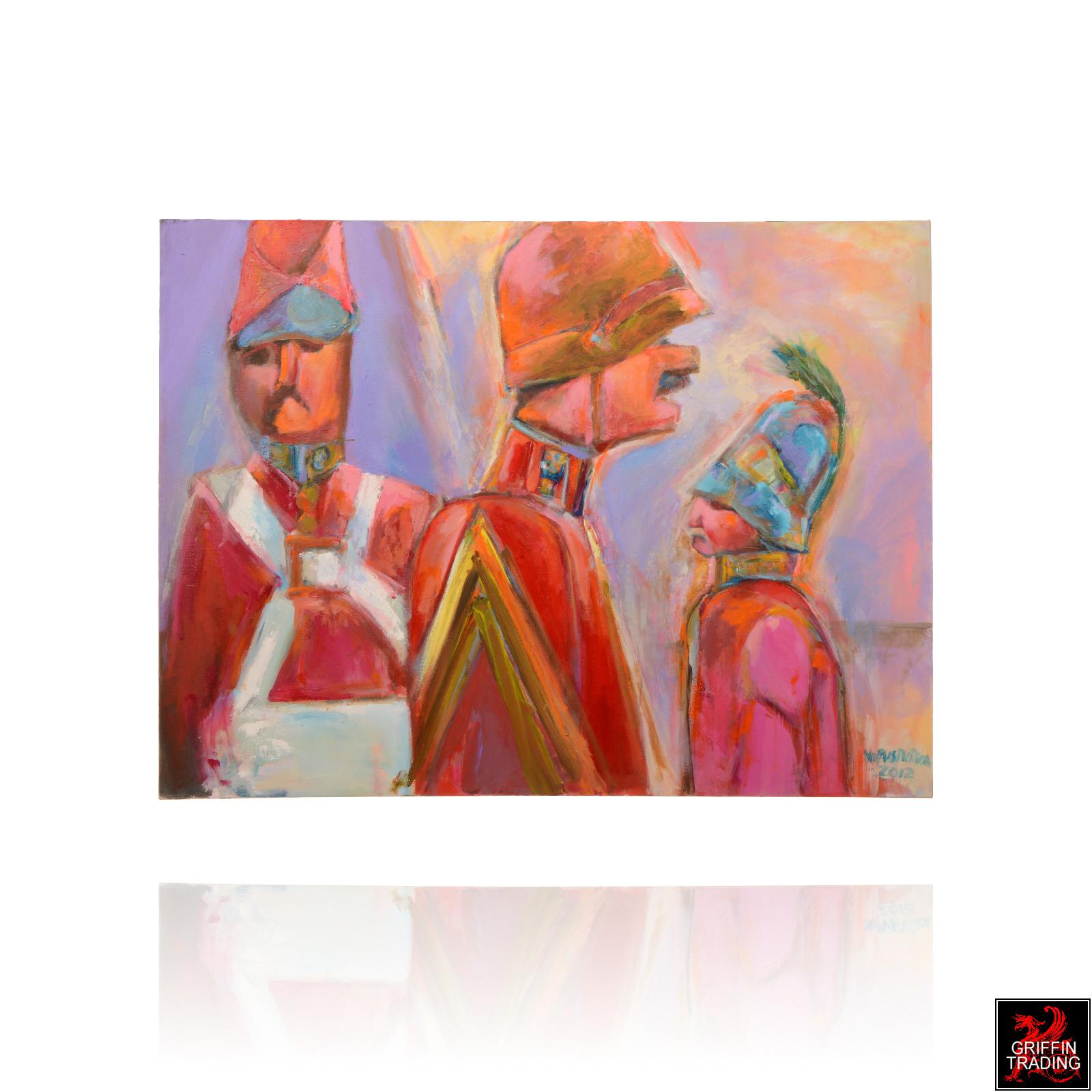 Nik Puspuricas Toy Soldiers painting
