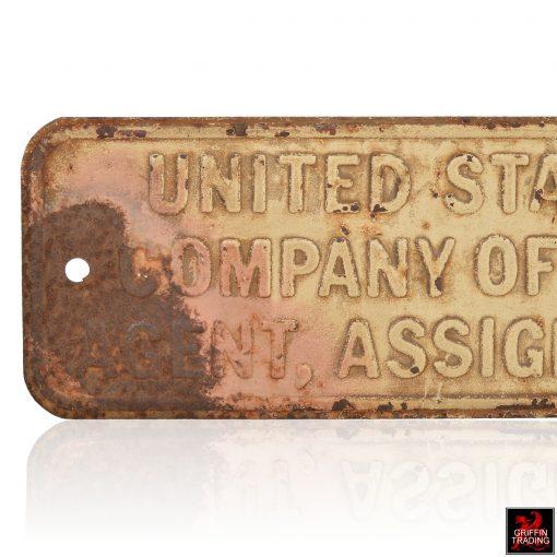 United States Trust Sign