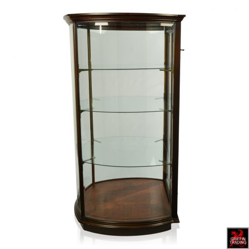 Curved Glass Display Cases and Vitrines