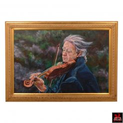 Matthew the Violinist painting by Jan Prystowsky