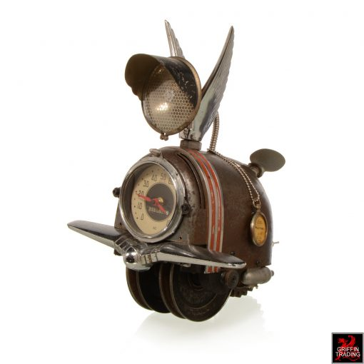Wild Thing Assemblage Art by Van Dusen Clockworks