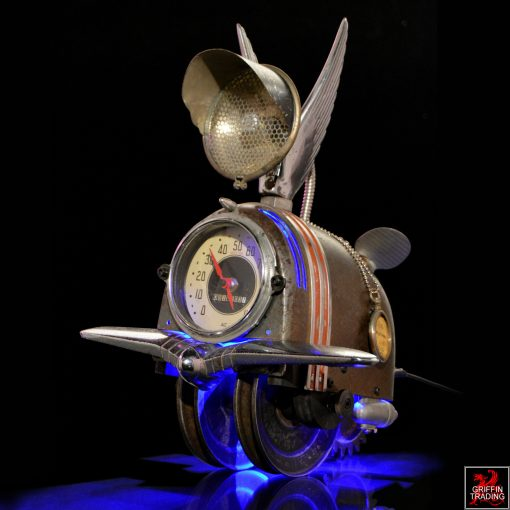 Wild Thing Assemblage Art by Van Dusen Clockworks