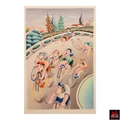 Yuval Mahler Bicycle Print
