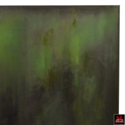 AN28 Green Abstract Art Painting by Alyshia