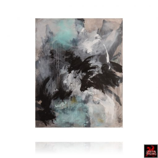 Alchemy Sky Abstract Painting by Stephen Hansrote