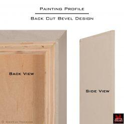 Back Cut Bevel Design