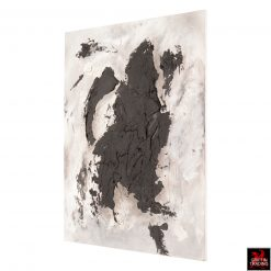 Black Matter Abstract Painting by Stephen Hansrote