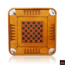 Antique Carrom Gameboard