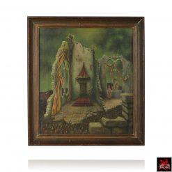 Fairytale Castle Ruins Painting
