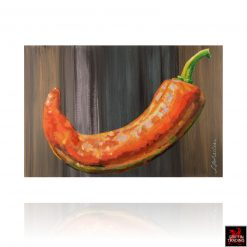 Chili Pepper Painting by Lori Maclean