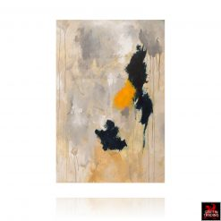 Civil Twilight abstract painting by Stephen Hansrote