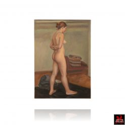 Female Nude Figure Study Painting by Clarity Haynes