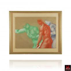 Classical Pastel Figure Study