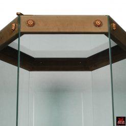 Hexagon Vitrine Custom Display Case
