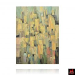 Cubist Cityscape Painting by Hardy Martin