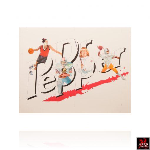 Dr Pepper Sports Illustration by Ben James