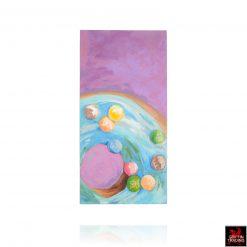 M&M Donut Painting
