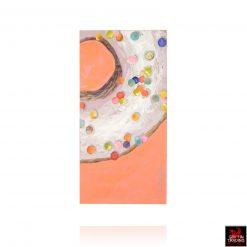 Polkadot Sweetness Donut Painting