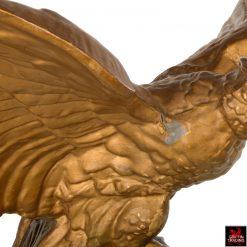 19th Century Zinc American Eagle