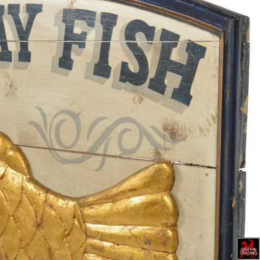 East Bay Fish Packing Trade Sign
