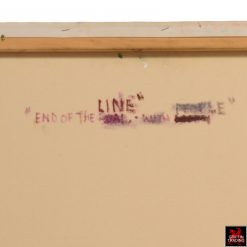 End of the Line painting by Nik Puspurica