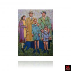 Family painting by Nick Puspurica