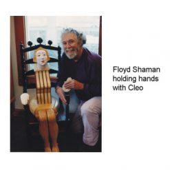 Cleo Sculpture by Floyd Shaman