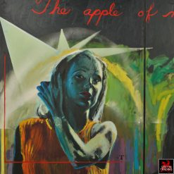 Gary Schafter Apple Of My Eye Painting