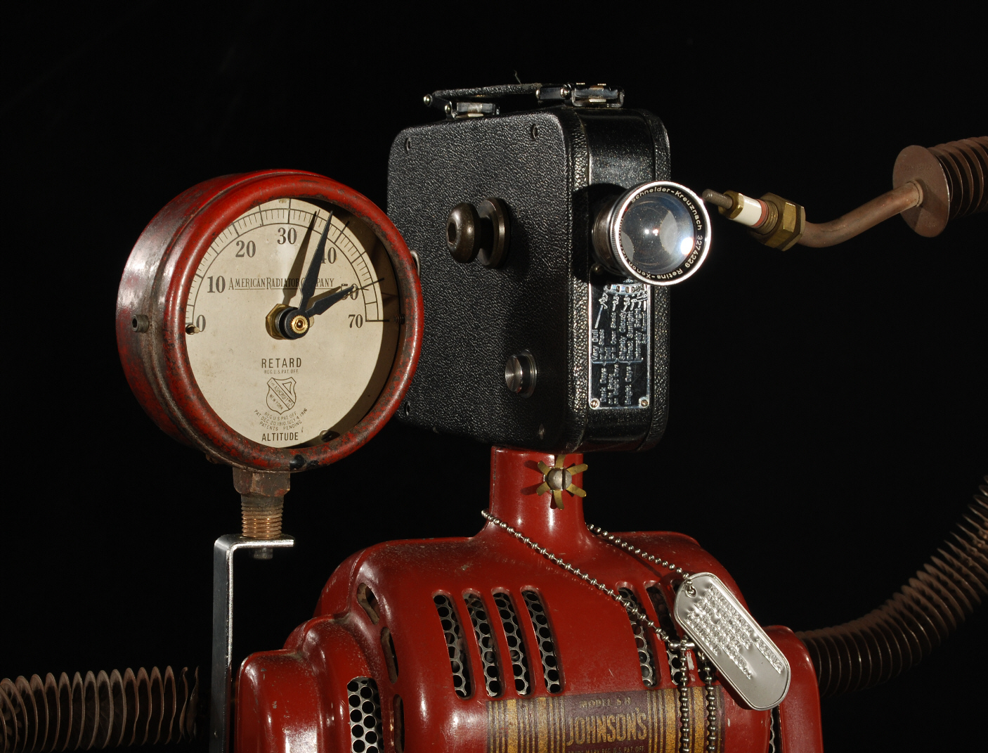 Hollywood Robot Clock - Clocks