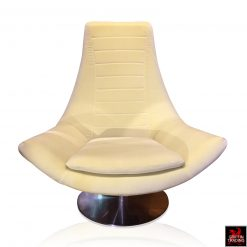 Italian Swivel Lounge Chair