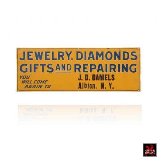 Jewelry Diamond Repair Sign