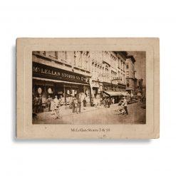 Antique Photograph of McLellan's Store