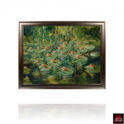 Monets Giverny Gardens painting by Hardy Martin