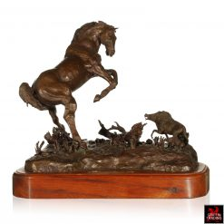 Bronze Horse Sculpture by Dana McLeod
