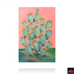 Pink Cactus II Painting by Hardy Martin