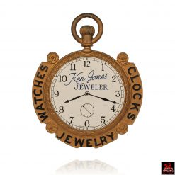 Antique Pocket Watch Trade Sign