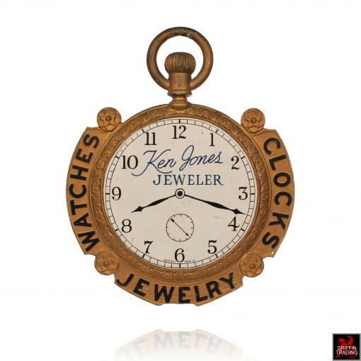 Antique Pocket Watch Trade Sign