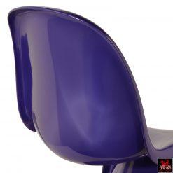 Verner Panton Purple Panton S Chair By Fehlbaum