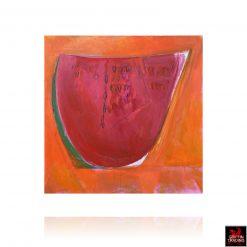 Original Watermelon painting by Texas artist Nik Puspurica