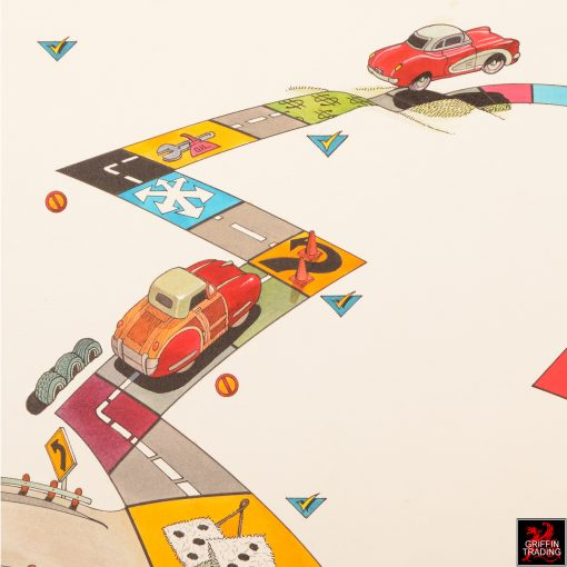 Car Shopping Road Rally Illustration by Ben James