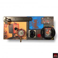 Van Dusen Designworks Robot Life 1 Assemblage Art