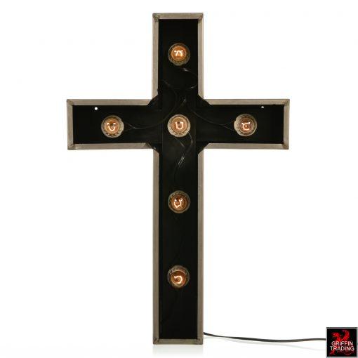 Church Cross Lighted Sign
