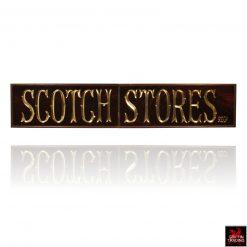 Scotch Stores Pub Sign