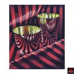 Red Shift Photorealist Lithograph by Jeanette Pasin Sloan